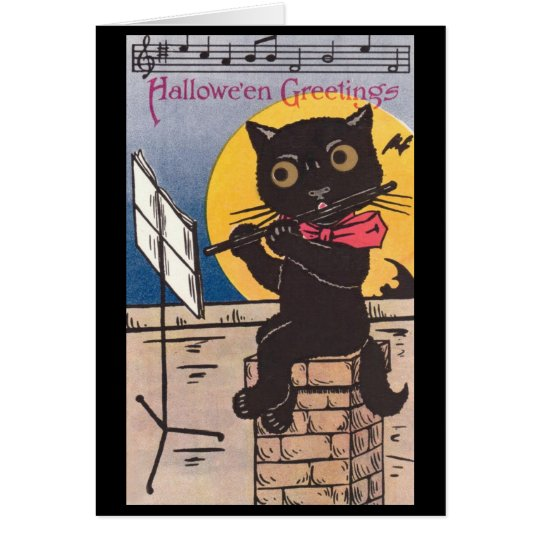 Halloween Kitty Card
