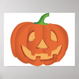 Halloween Kürbis / Pumpkin Poster