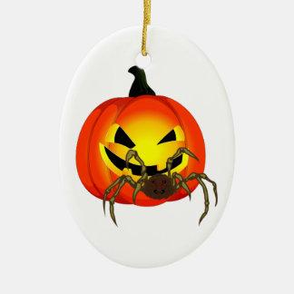 Halloween Kürbis spider pumpkin SPI that Christmas Tree Ornament