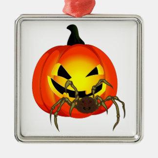 Halloween Kürbis spider pumpkin SPI that Ornament