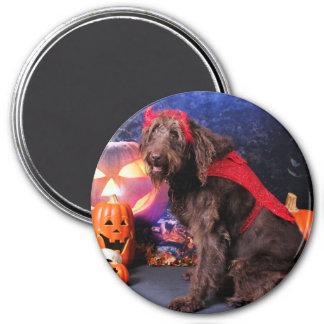 Halloween - LabraDoodle - Max Magnet