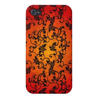 Halloween Lace  iPhone 4/4S Cover