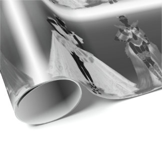 Halloween Lady's of the Night Wrapping Paper