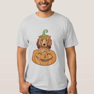 Halloween Longhaired Dachshund Tees