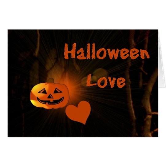 Halloween Love Card