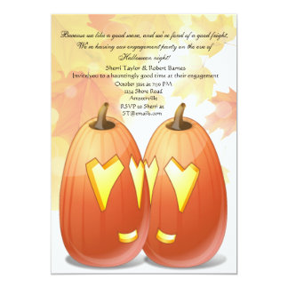 Halloween Love Party Invitation