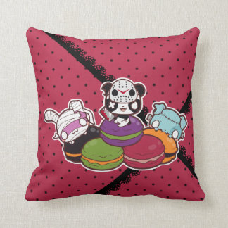 Halloween Macaroons Throw Cushions