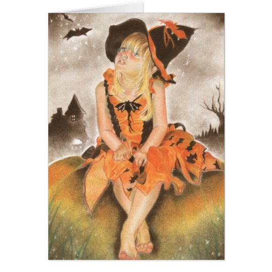 Halloween Magic Greeting Card