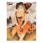 Halloween Magic Post Card