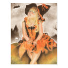 Halloween Magic Postcard