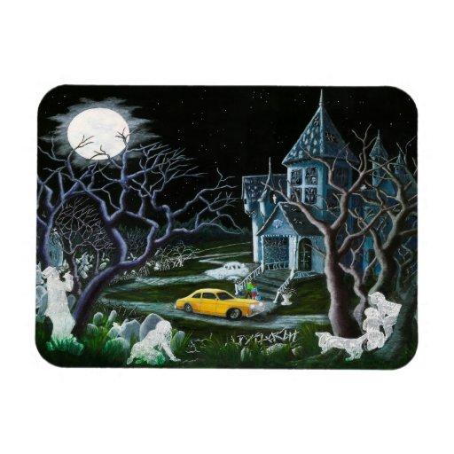 "Halloween magnet ""Haunted Inheritance"""