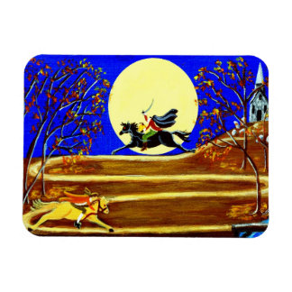 "Halloween magnet ""Ichabod's Race"""