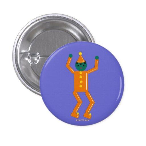 Halloween Martzkin Boy Gobin Button