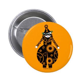 Halloween Martzkin Clown Button