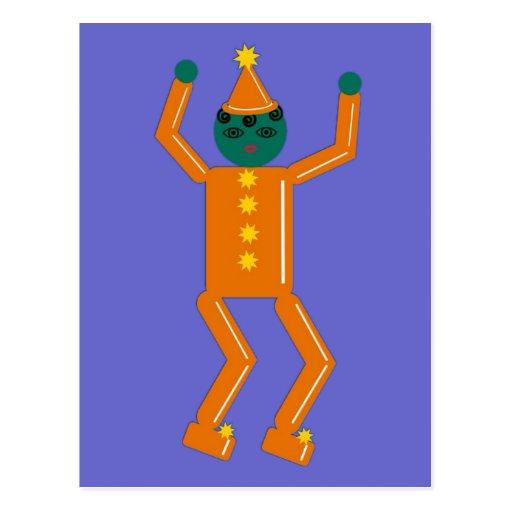Halloween Martzkin Goblin Boy Postcard