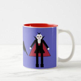 Halloween Martzkin Vampires & Bat Mug