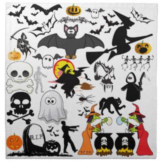 Halloween Mashup Napkin