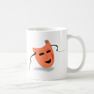 Halloween Mask Costume Basic White Mug