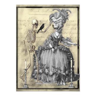 Halloween Masquerade Ball 14 Cm X 19 Cm Invitation Card