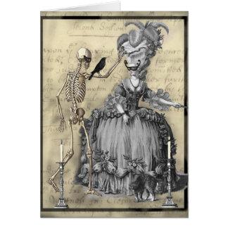 Halloween Masquerade Ball Greeting Card