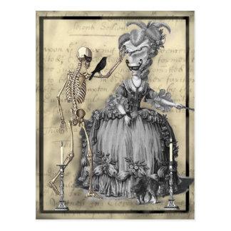 Halloween Masquerade Ball Post Cards