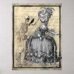 Halloween Masquerade Ball Print