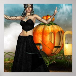 Halloween Medusa Posters