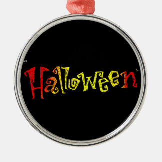 Halloween Metal Ornament