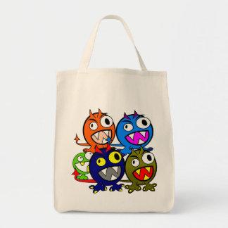Halloween Monster Friends Tote Bag
