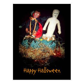 Halloween Monster Mash Postcard
