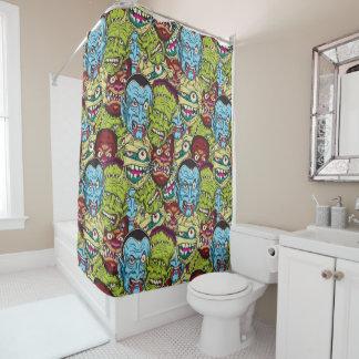Halloween Monster Mash Shower Curtain