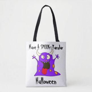 Halloween Monster Tote Bag