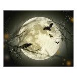 Halloween Moon 11.5 Cm X 14 Cm Flyer