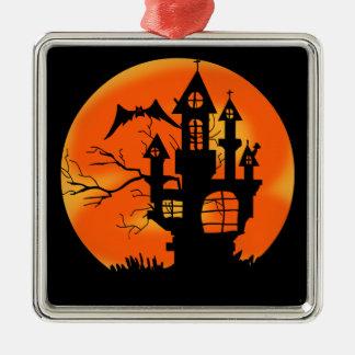 Halloween Moon Christmas Ornament