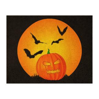 Halloween Moon Jack-O-Lantern Cork Paper