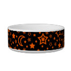 Halloween Moon & Stars (Small Dog) Bowl