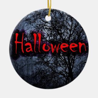 Halloween Motif Christmas Ornament