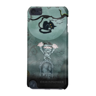 Halloween Mummy and Cat iPod Touch (5th Generation) Cover