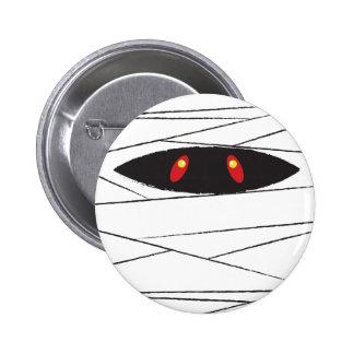 Halloween Mummy 6 Cm Round Badge