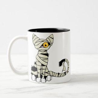 Halloween Mummy Cat Mug
