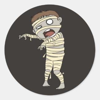 Halloween Mummy Envelope Stickers