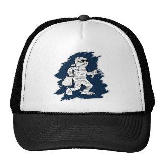 Halloween Mummy Mesh Hats