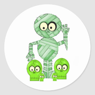 Halloween Mummy Stickers