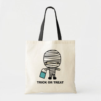 Halloween Mummy Trick or Treat Candy Bag