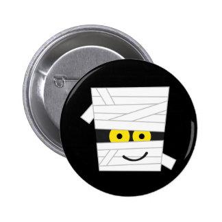 Halloween Mummy Tshirts and Gifts 6 Cm Round Badge