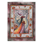 Halloween Mystic Witch by Molly Harrison Card