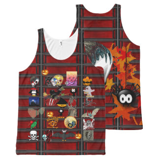 Halloween night All-Over print tank top