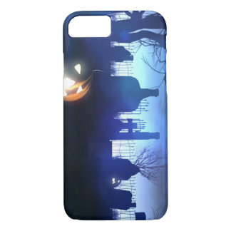 Halloween Night Cemetery iPhone 8/7 Case