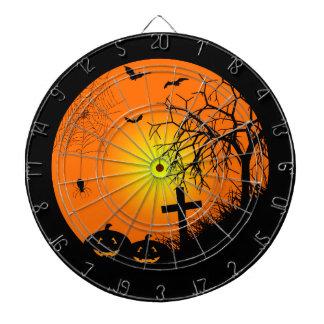 Halloween night dartboard