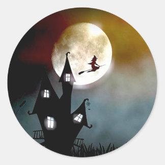 Halloween Night Flight Stickers